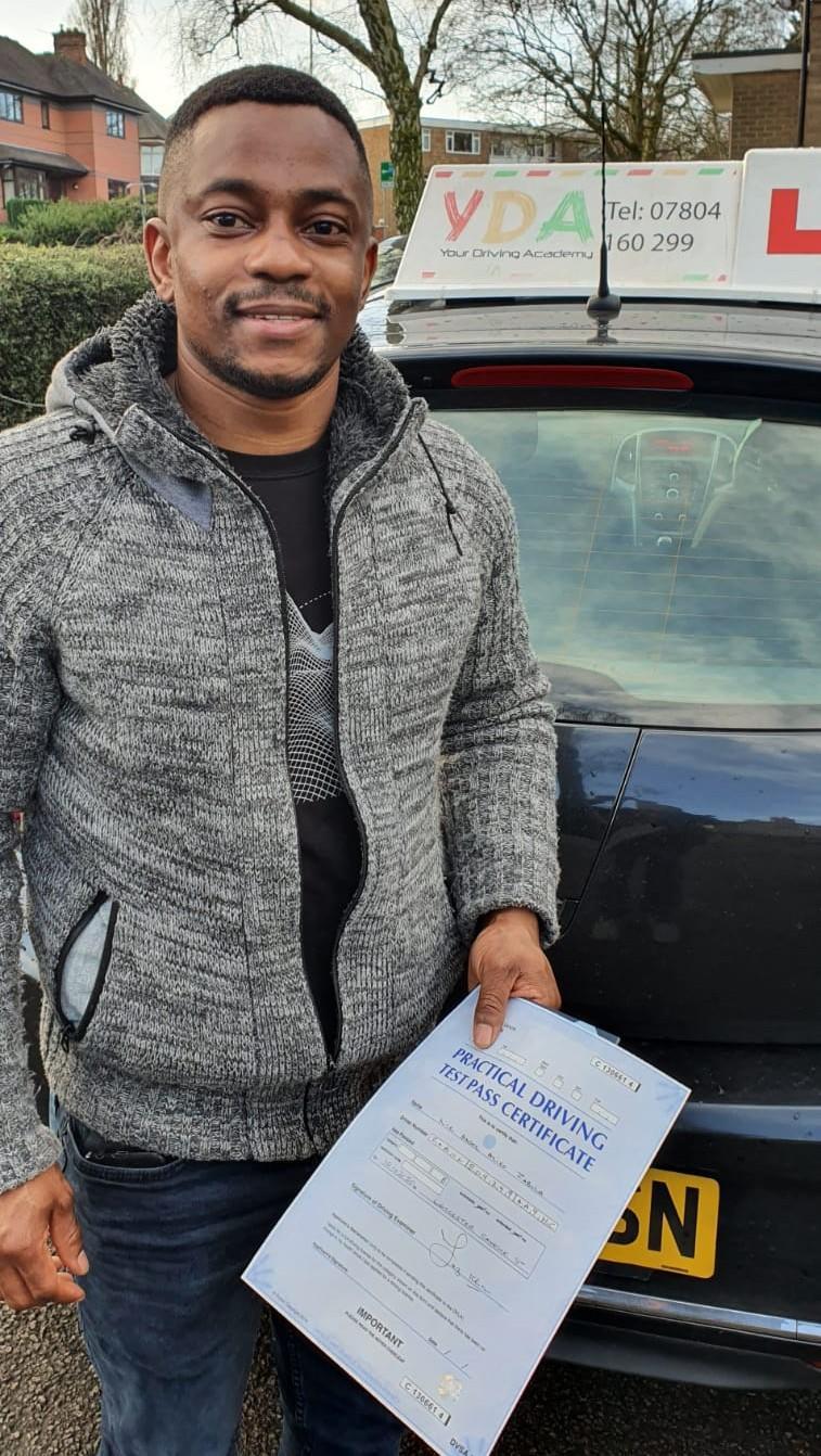 Leicester Driving Schools - Ansel Zabula