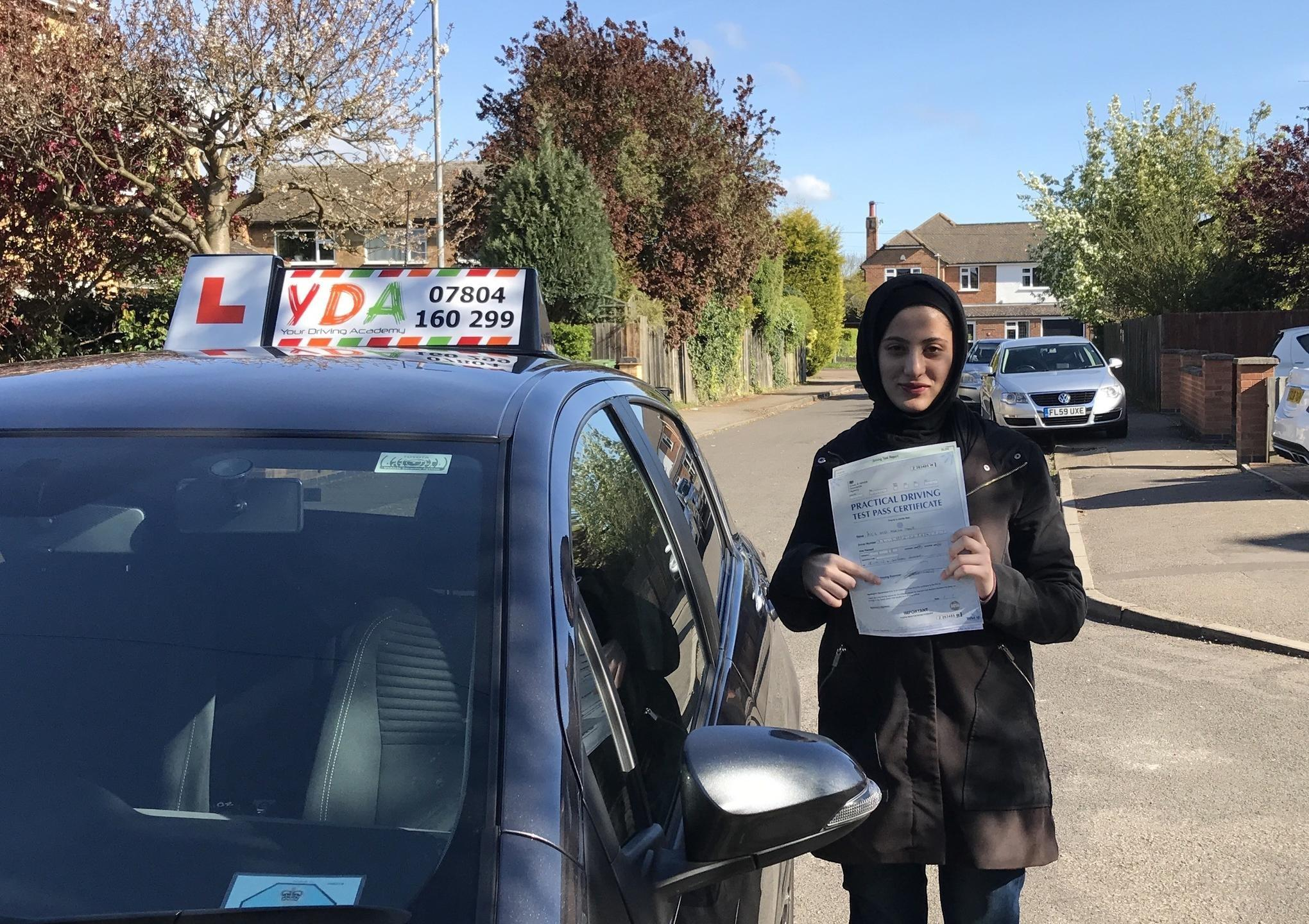 Driving Instructors Leicester - Mariam Samir