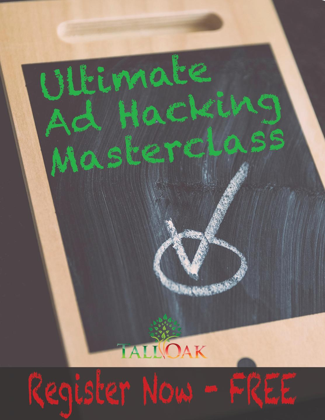 Free Training - Ultimate Ad Hacking Masterclass with Hunter Anderson, MBA