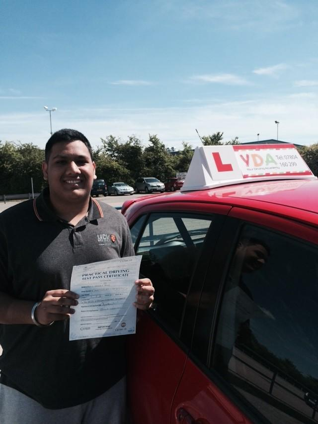 Driving Schools Leicester - Tajun Ram