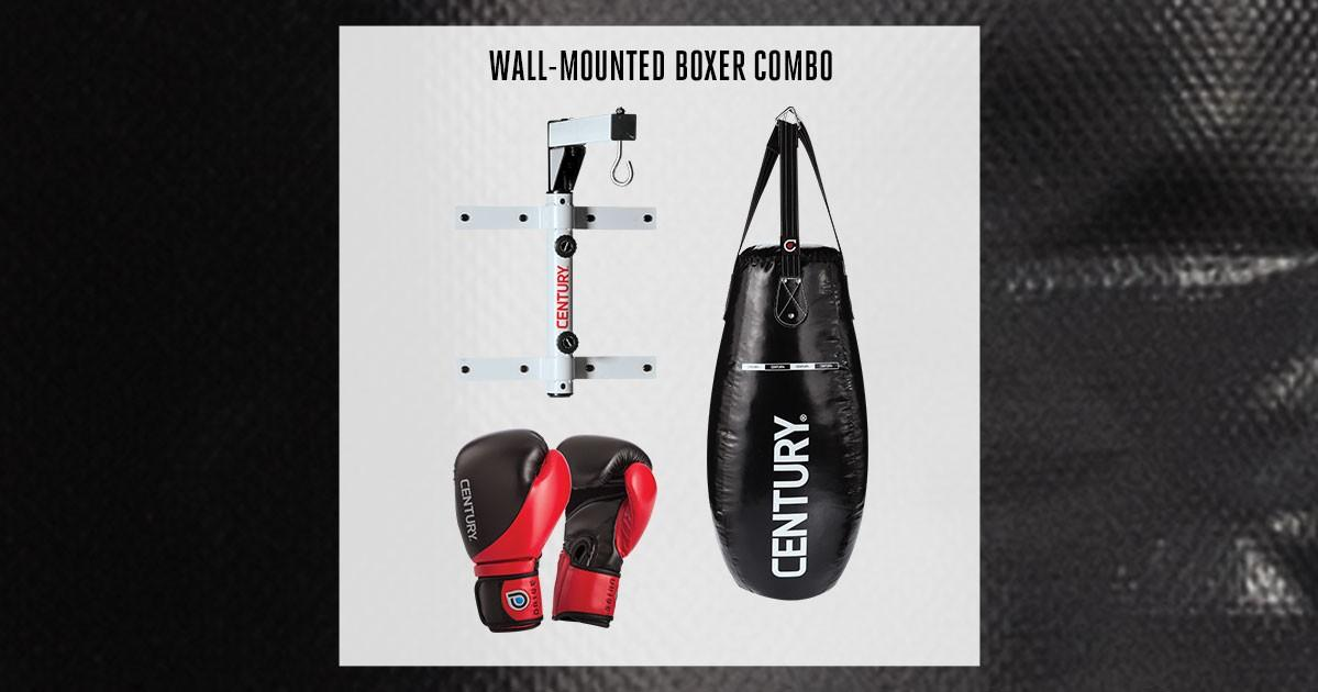 Wall-Mounted Boxer Combo