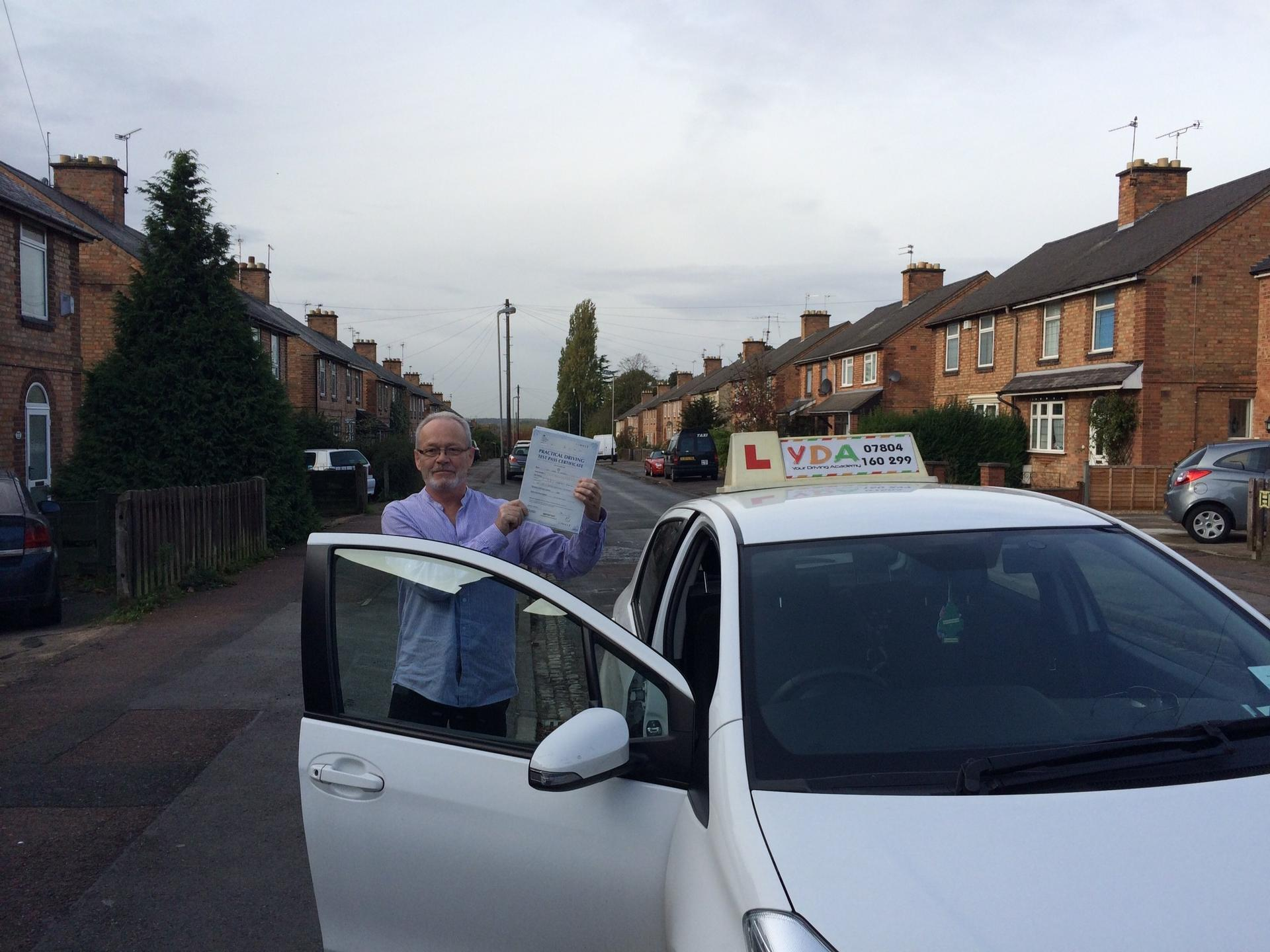 Driving Schools Leicester - Liam Strachan