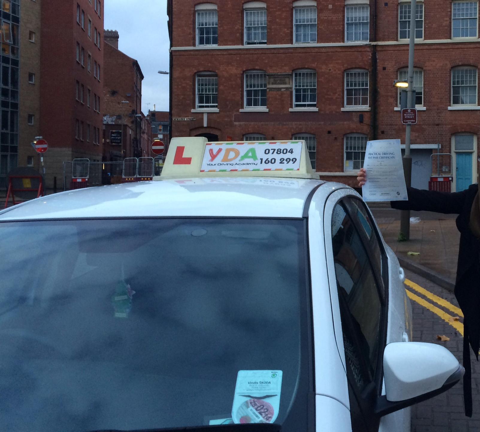 Driving Schools Leicester - Noorjahan Islam