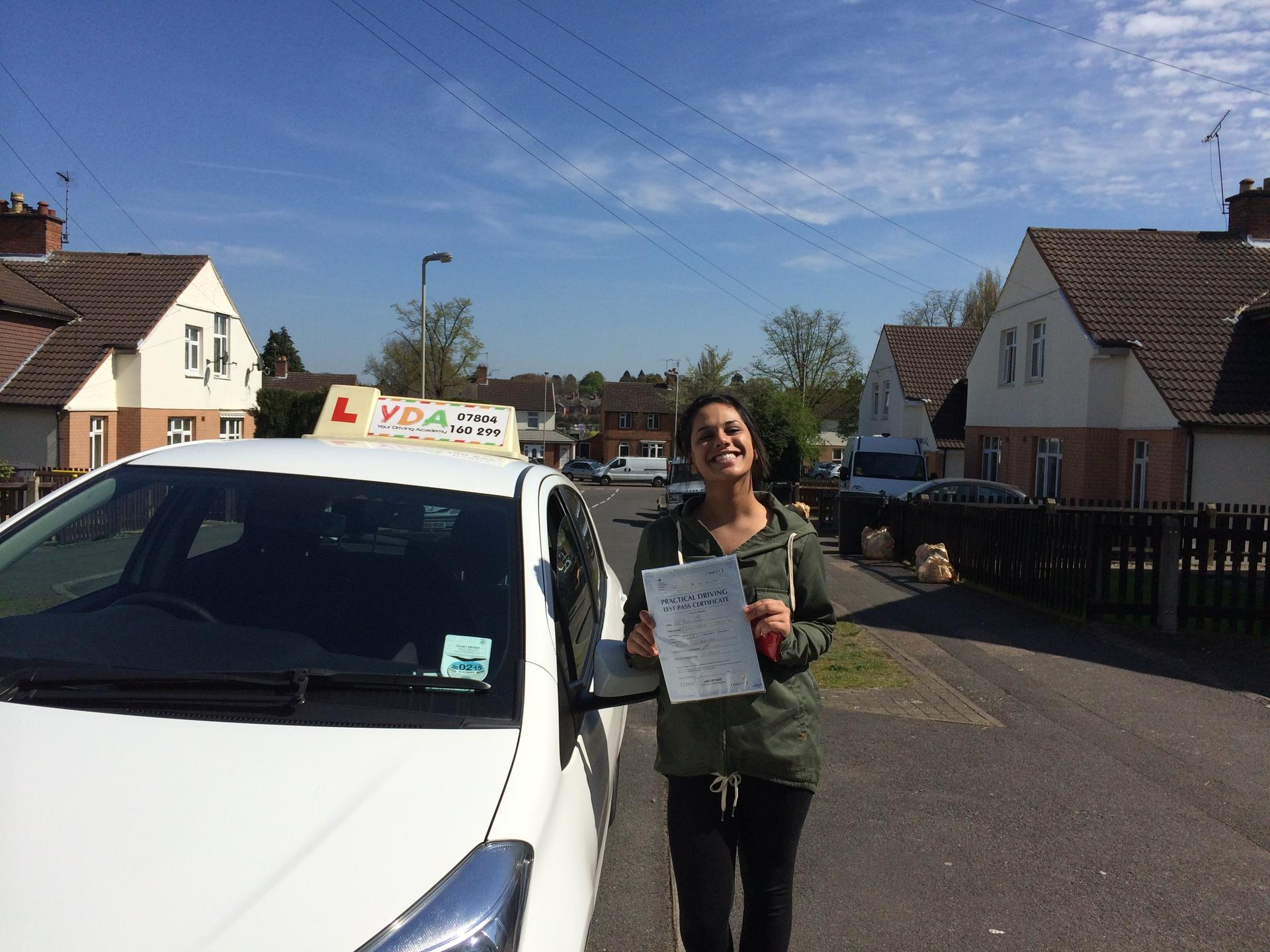 Driving Instructors Leicester - Rina Pancholi