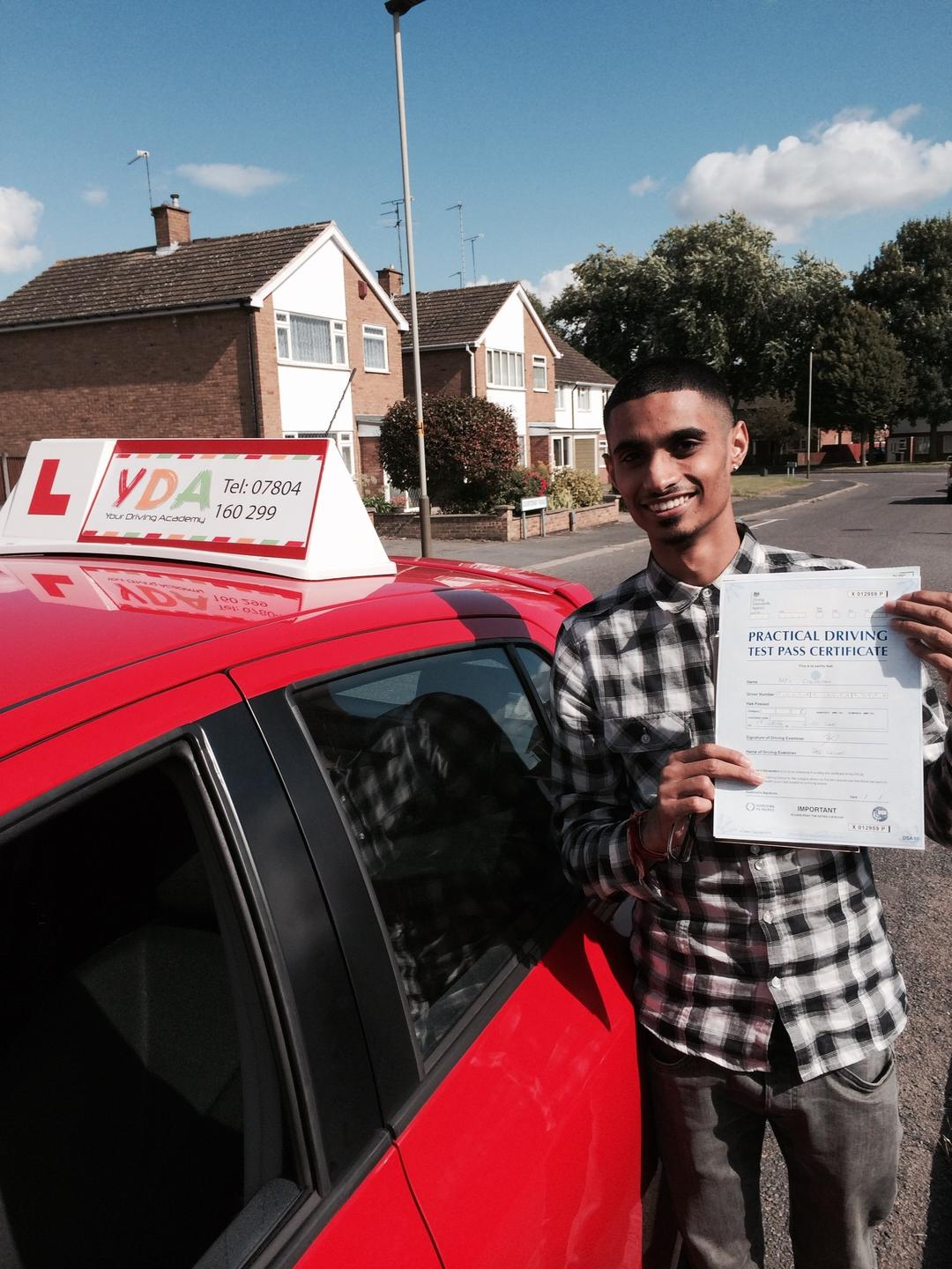 Driving Instructors Leicester - Kapil Chudasama