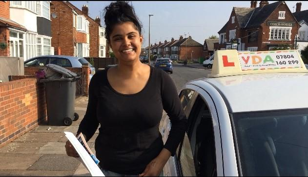 Driving Lessons Leicester - Ashika Patel