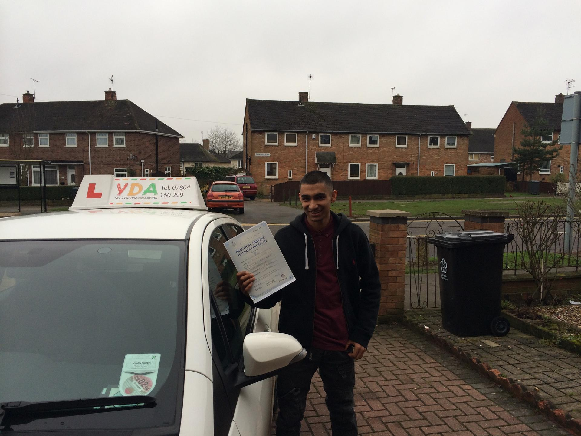Driving Lessons Leicester - Bilal Esmail