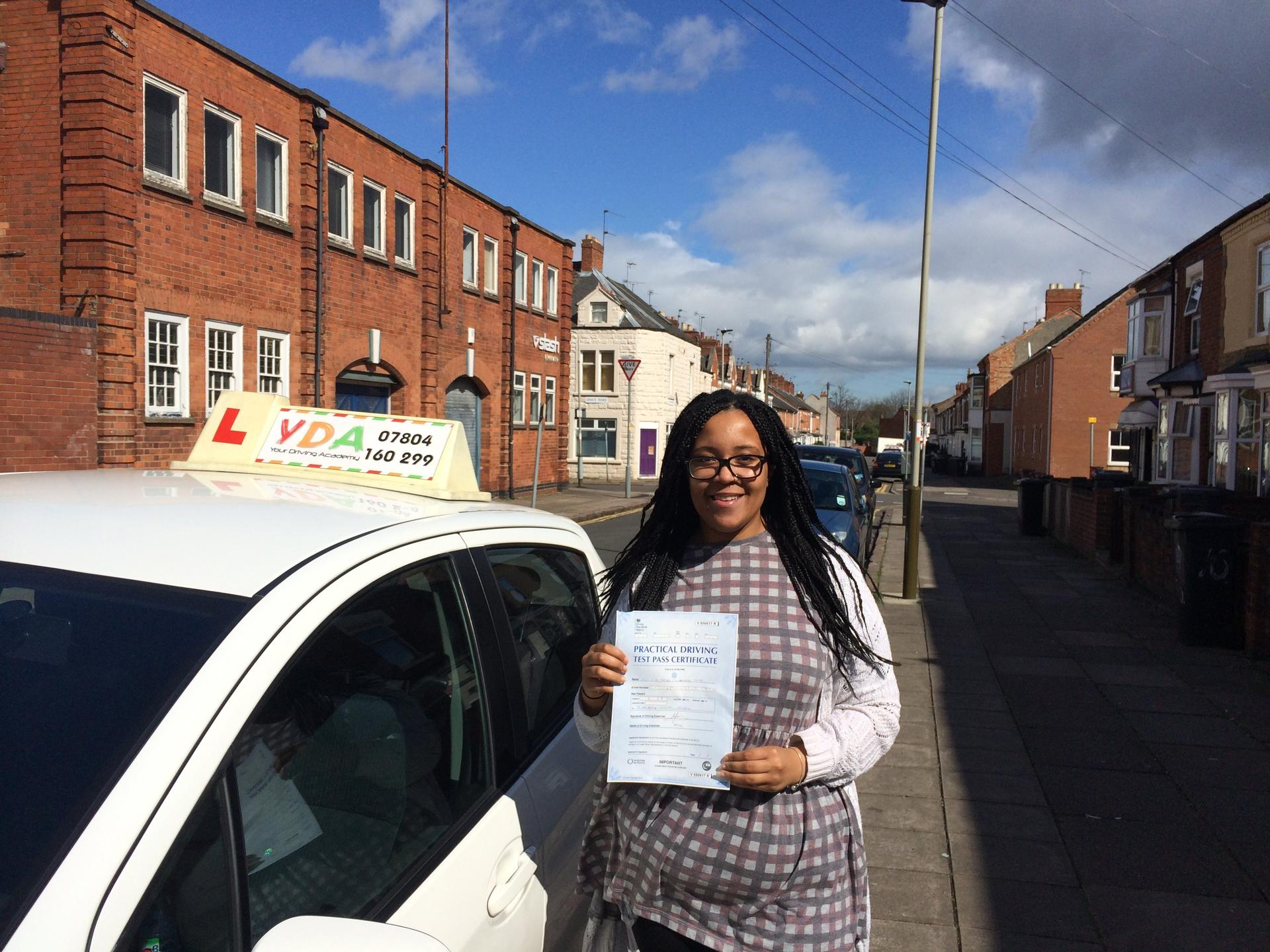 Driving Lessons Leicester - Lia Jones