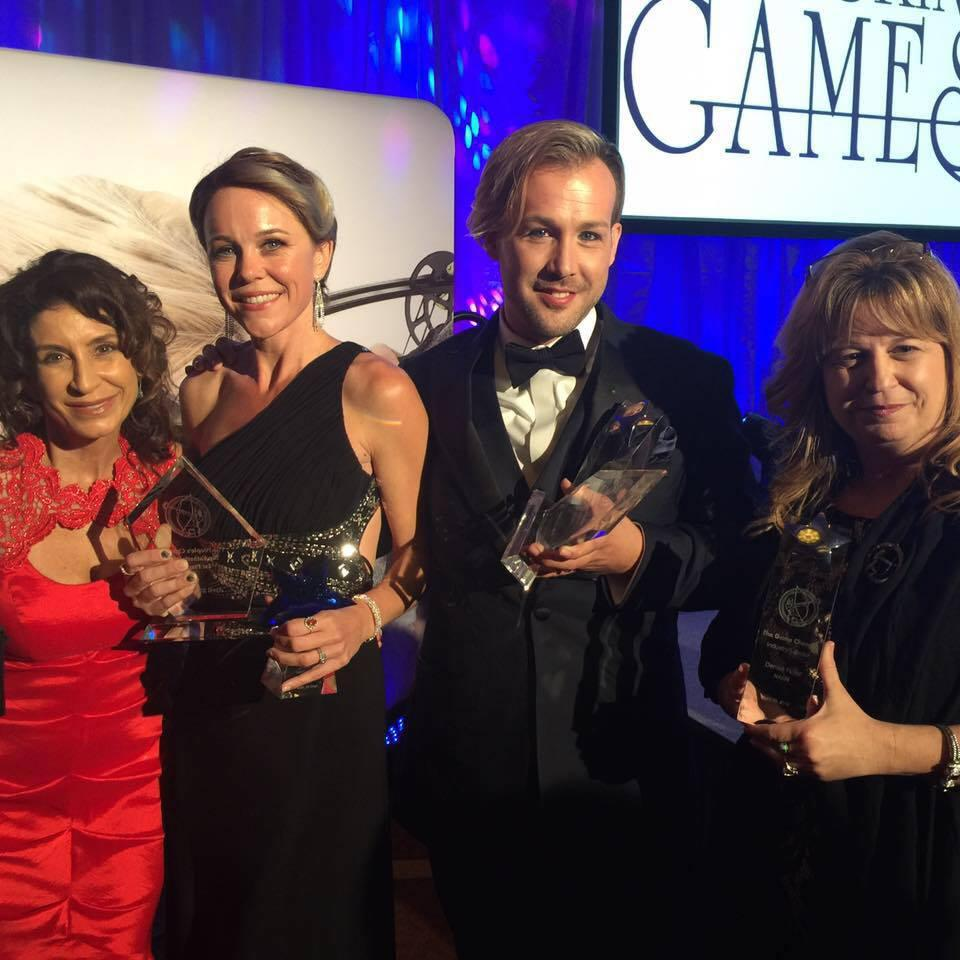 2016 Game Changer for Industry Education and Leadership, 2nd Place People Choice and other award recipients at The Skin Games hosted in San Ramon, CA
