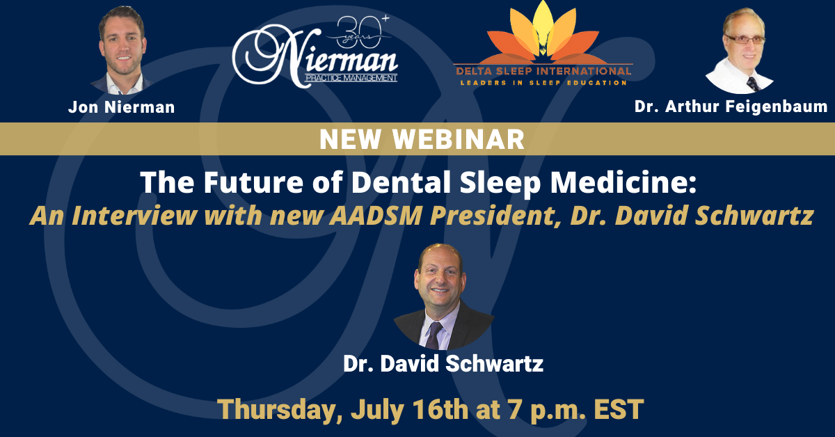 NiermanPM Webinar: AADSM President Interview
