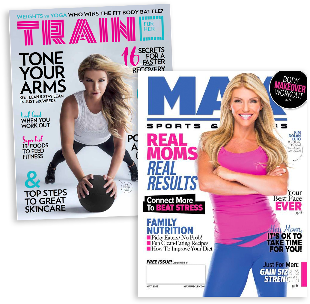 Kim Dolan Leto-Fitness-Cover-Model