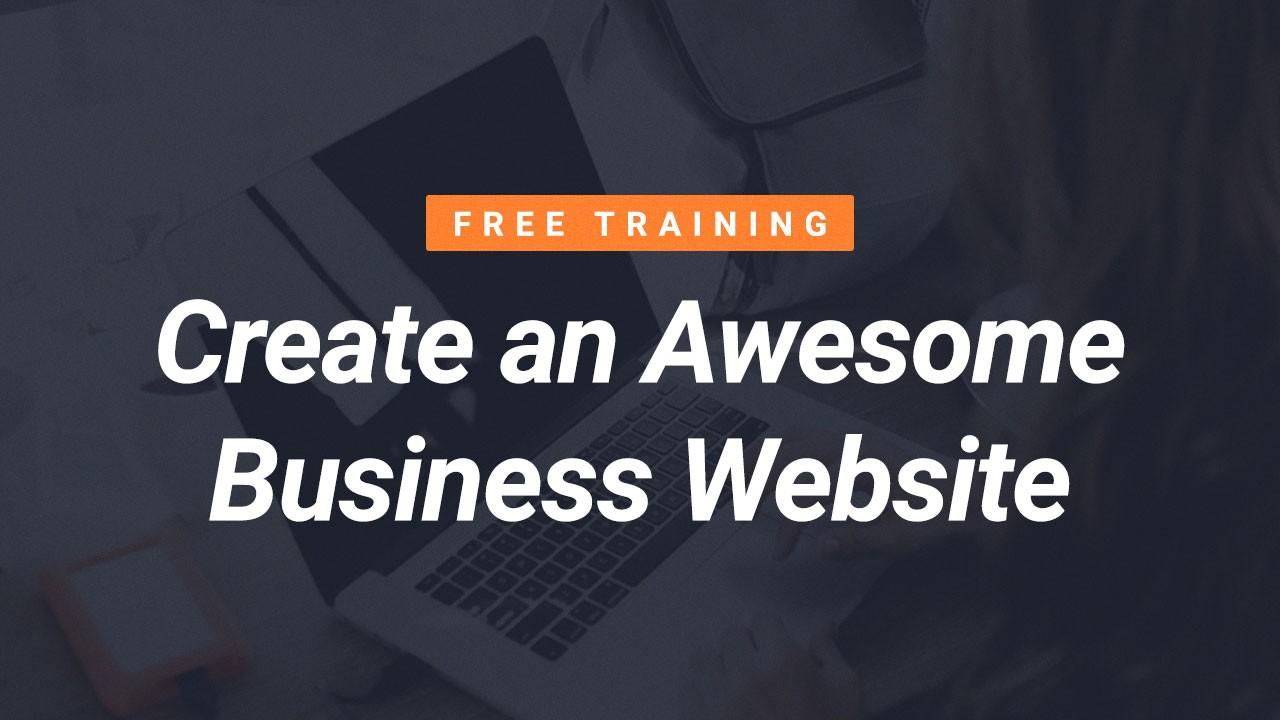 Free Website Building Course