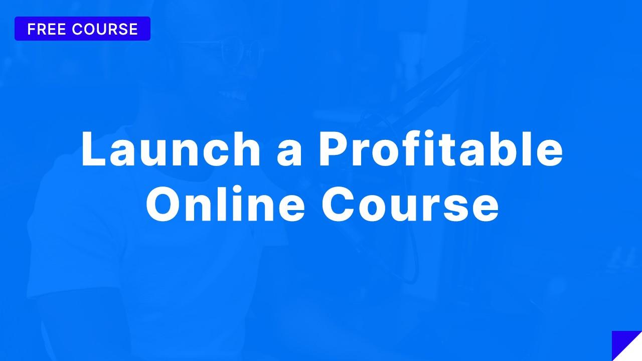 Free Online Course Creation Training
