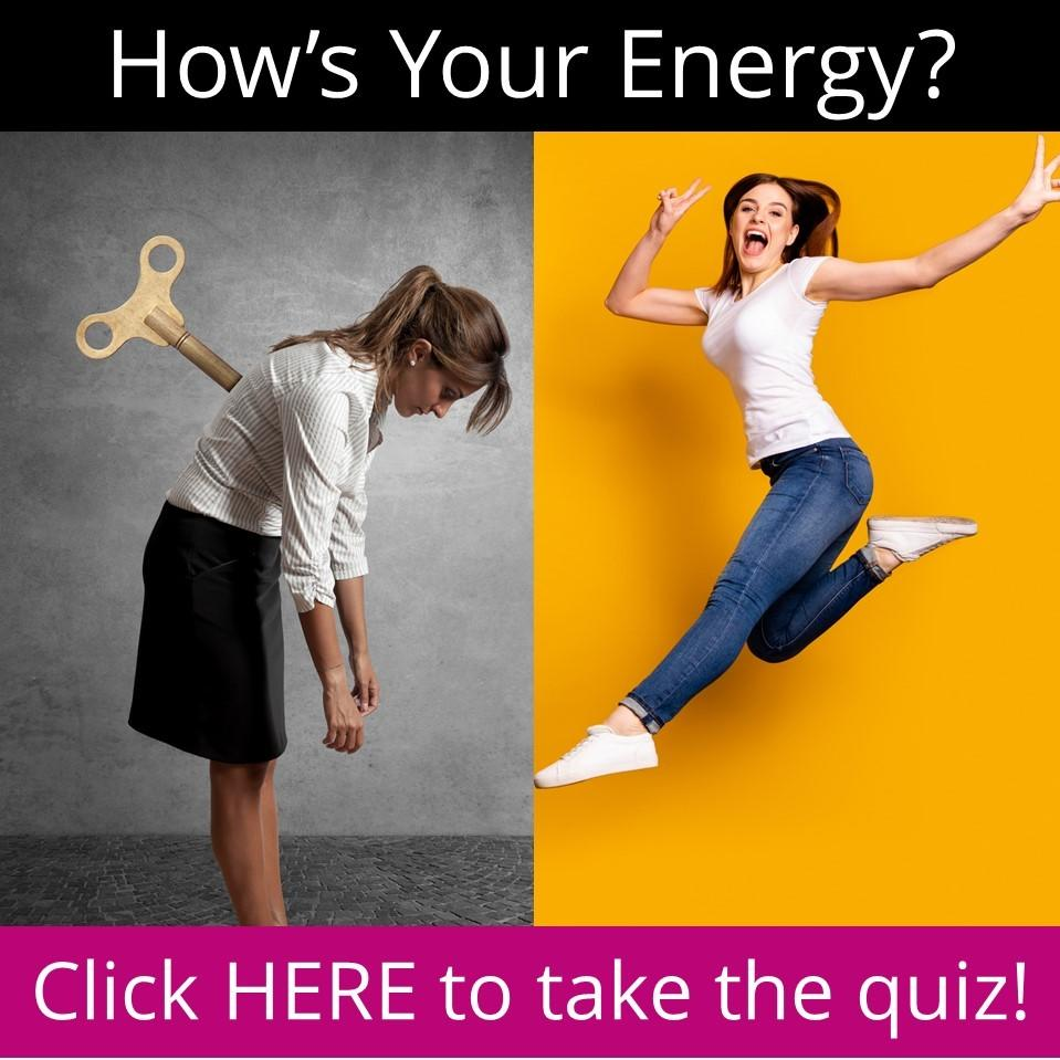 2 women, one tired, one energized - Take the Energy Quiz