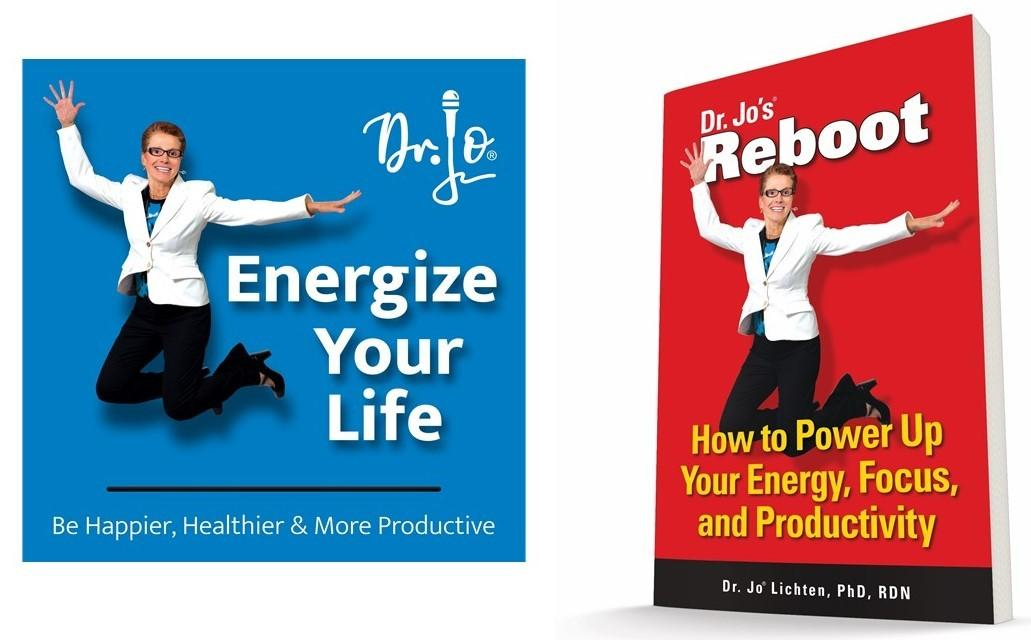 cover of Reboot book and Energize your Life podcast