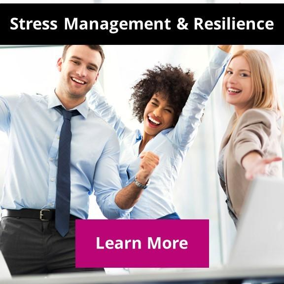 energized people at work feeling in control and not stressed, resilience