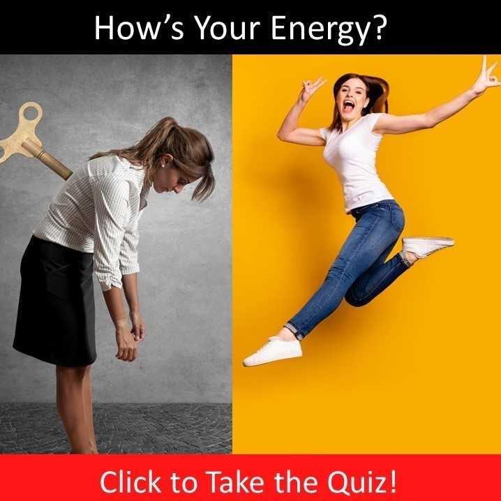 image of 2 women, one tired, one energized
