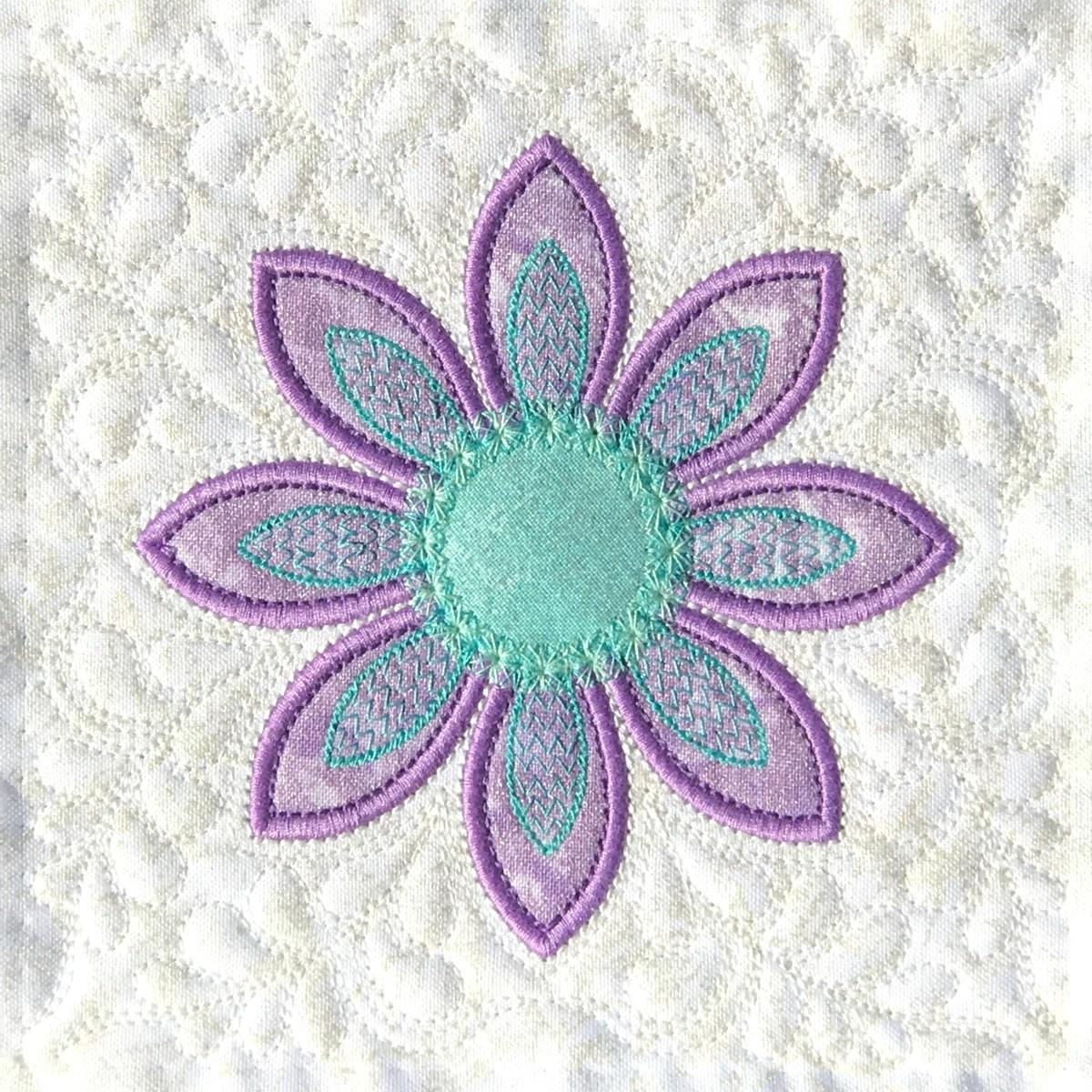 FREE Machine Embroidery Applique Design