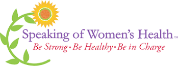 Speaking of women's health conference logo