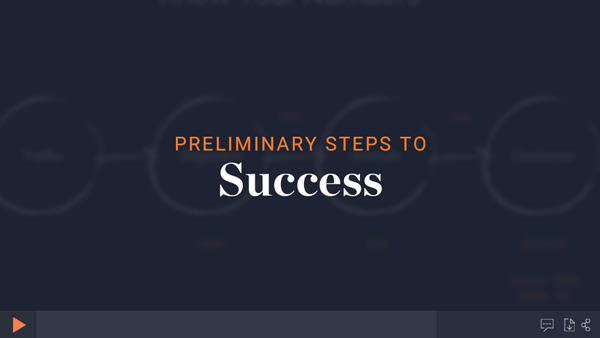 Preliminary steps for success module thumbnail