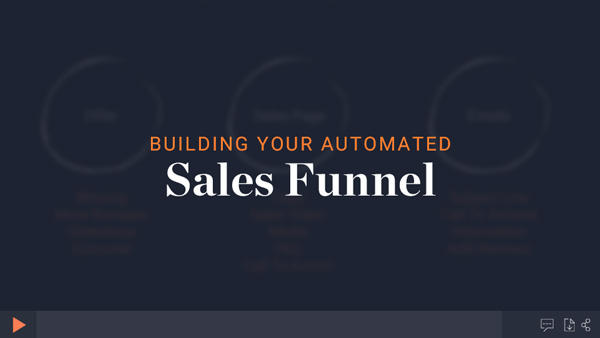 Creating a sales funnel module thumbnail