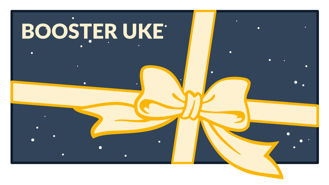 Buy a gift card for BOOSTER Uke