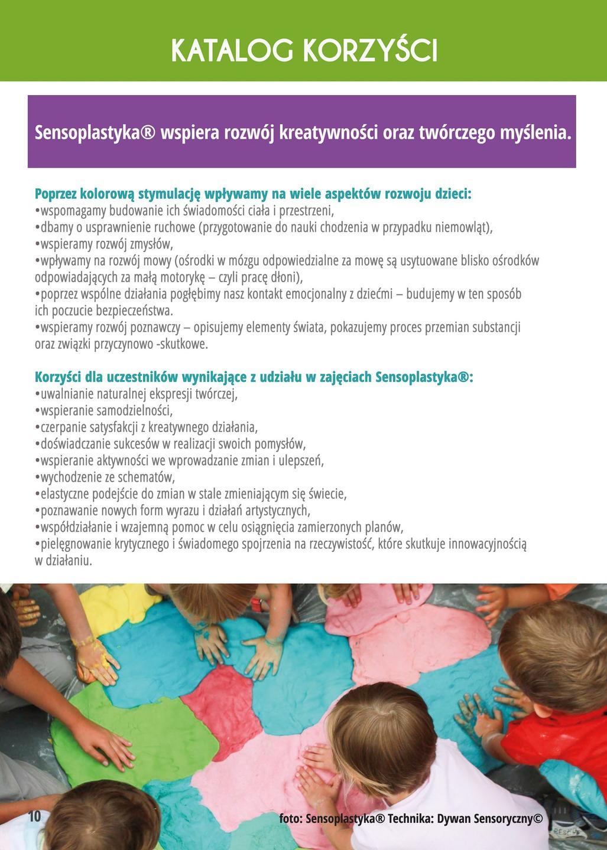 Sensoplastyka® - katalog korzyści