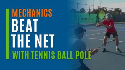 Beat The Net (With Tennis Ball Pole)