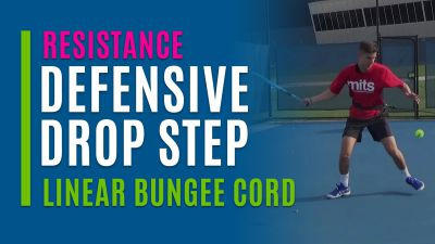 Defensive Drop Step (With Linear Bungee Cord)