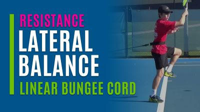 Lateral Balance (Linear Bungee Cord)