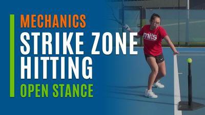 Strike Zone Hitting (Open Stance)