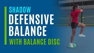 Defensive Balance (Shadow with Balance Disc)