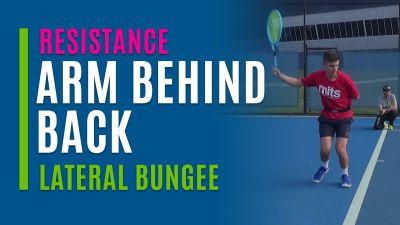 Arm Behind Back (Lateral Bungee)