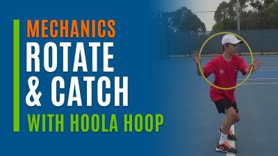 Rotate and Catch (With Hoola Hoop)