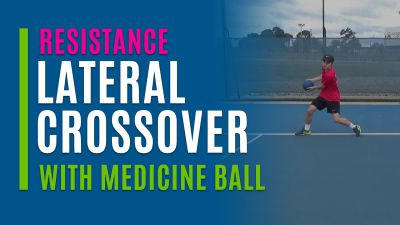 Lateral Crossover (With Medicine Ball)