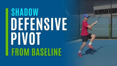 Defensive Pivot (Shadow from Baseline)