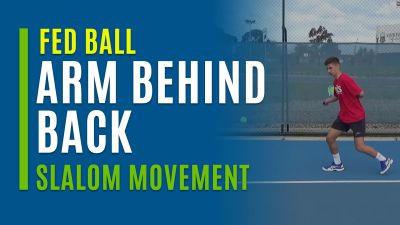 Arm Behind Back (Slalom Movement)