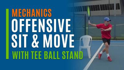 Offensive Sit & Move (With Tee Ball Stand)