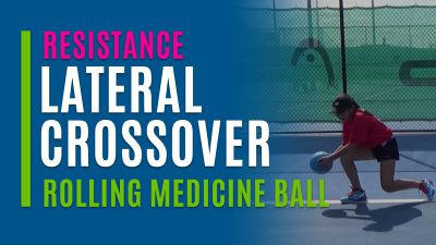 Lateral Crossover (Rolling Medicine Ball)
