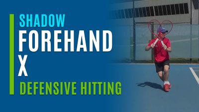 Forehand X (Shadow with Defensive Hitting)