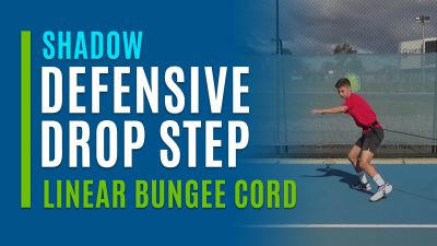 Defensive Drop Step (Shadow with Linear Bungee Cord)
