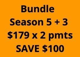 KS Bundle: 5 + 3 - 2 Payments of $179