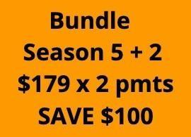 KS Bundle: 5 + 2 - 2 Payments of $179