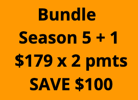 Bundle: 5 + 1 - 2 Payments of $179