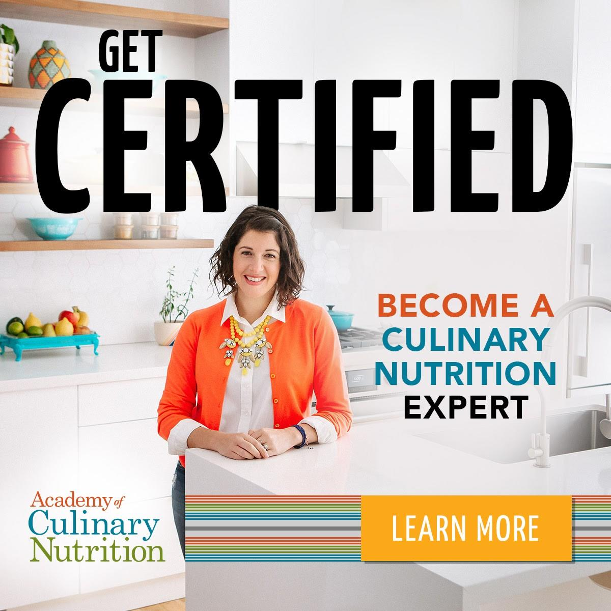 Click here for a free mini training with the Academy of Culinary Nutrition