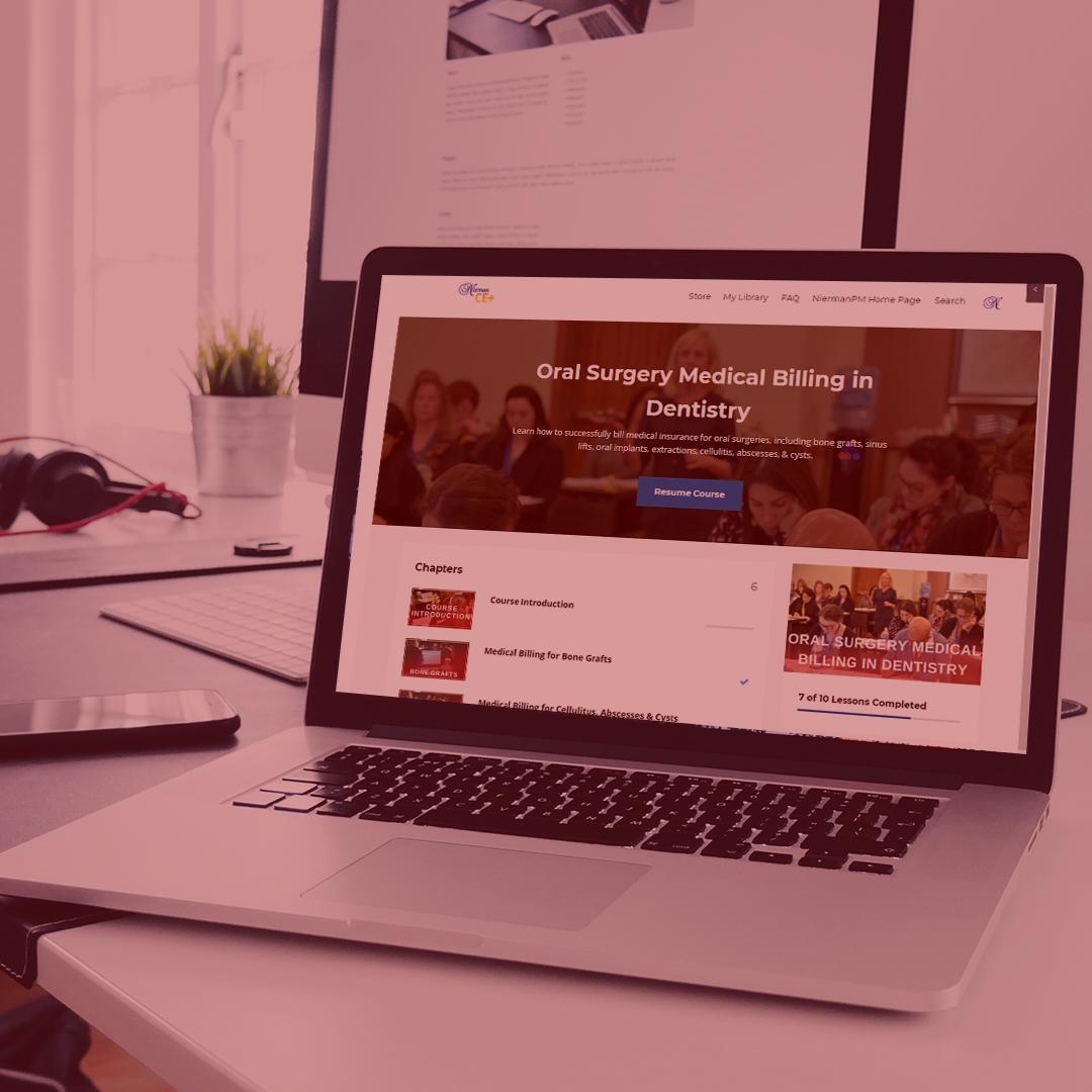 Nierman CE+ Online Medical Billing Store