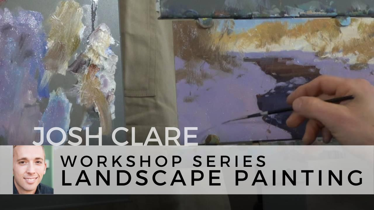 Josh Clare Painting Workshop