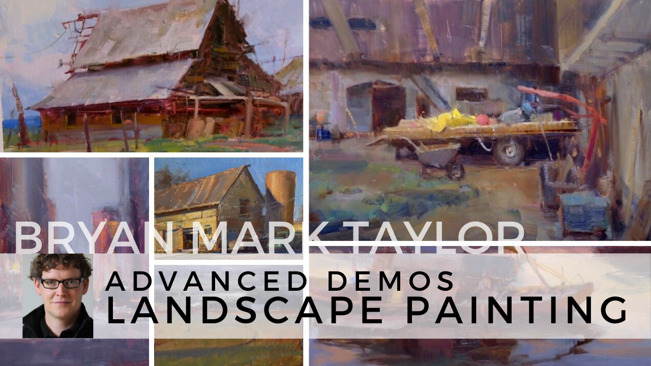 Landscape painting demo