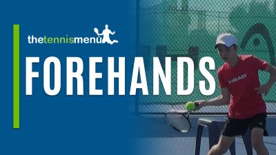 Forehands - The Tennis Menu