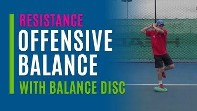 Offensive Balance (With Balance Disc)